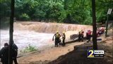 RAW VIDEO: Gwinnett crews rescue 11 people from river rapids