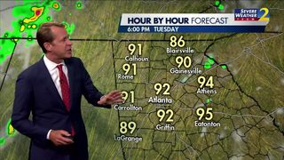 Low to mid 70s Tuesday morning