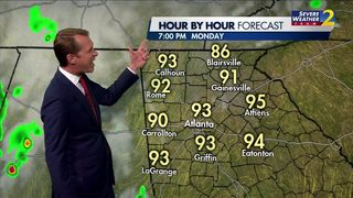 Warm, dry evening in store for your Monday