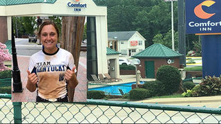 High school softball player hit by rock while swimming in hotel pool