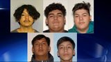 Jorge Rodriguez, 19, Rodolfo Rodriguez Puentes, 17, Jiovanny Castillo, 17, Antony Macias, 18, and Adrian Gonzalez Verduzco, 18, all of Gainesville, Georgia, were charged with tampering with evidence and hindering apprehension of a criminal.