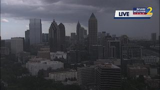 Severe storms down trees, power lines across metro; more expected tomorrow