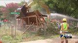 Notorious drug house demolished, alleged dealer arrested as drug crisis wrecks county