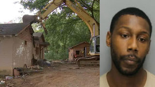 Notorious drug house demolished, alleged dealer arrested as drug crisis wrecks county