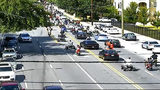 ATV riders swarm busy streets in Buckhead