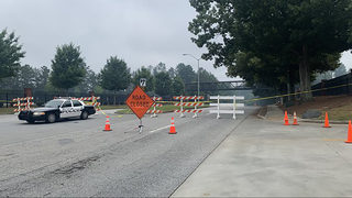 Road remains closed two days after warehouse fire in Cobb County
