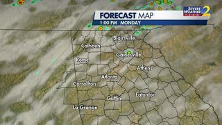 Heads up! Heavy rain, storms chance increases this week