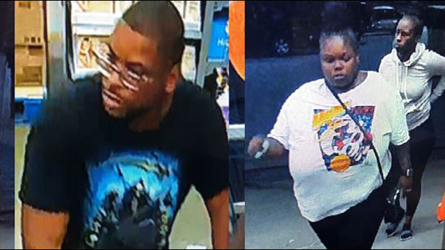 Couple shoplifts, points gun at Walmart manager, police say