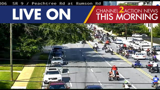 ATV riders swarm busy streets in parts of metro Atlanta