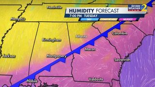Cool down coming as rain, storms move out of metro Atlanta