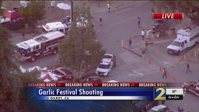 Gilroy Garlic Festival shooting: 3 victims killed by gunman