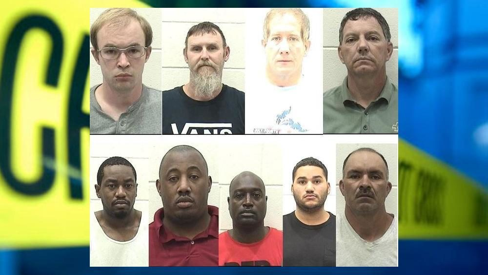OPERATION END GAME: 9 suspects arrested in undercover sting