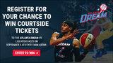 Courtside Atlanta Dream tickets!