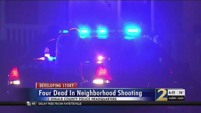 Police: 3 shot, killed in DeKalb County before suspect shoots self