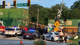 Train accident in Flowery Branch