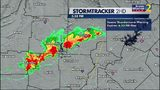 Severe Thunderstorm Warning in effect for parts of metro Atlanta