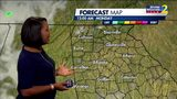 Isolated showers, storms possible Sunday night