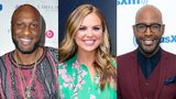 "Lamar Odom attends the NBA All-Star Bowling Classic at Lucky Strike LA Live on February 15, 2018 | Hannah Brown is seen outside ""Good Morning America"" on July 31, 2019 