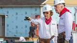 Jimmy Carter picking up hammer once again to build Habitat homes