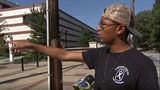 Zion Roebuck said he rushed to help two victims in a shooting near Atlanta University Center.