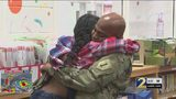Army chief surprises daughter at Atlanta elementary school after 6 months overseas
