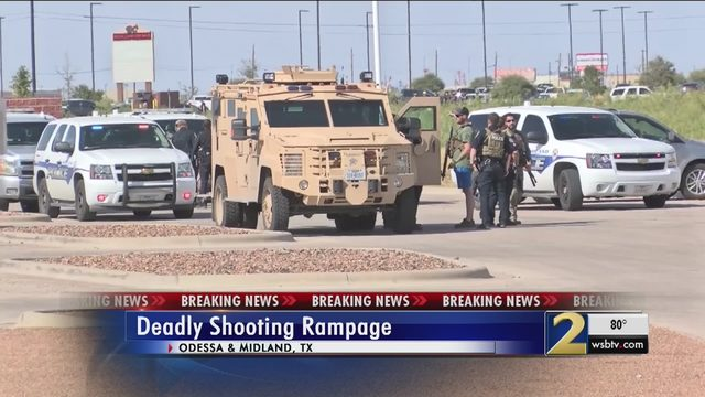 ODESSA MIDLAND TEXAS SHOOTING: BREAKING: At least 13 shot by