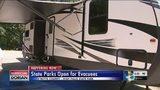 Georgia State Parks open gates to Dorian evacuees