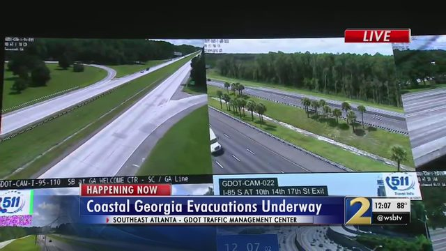 HURRICANE DORIAN EVACUATION: Georgia I-16 will switch to one