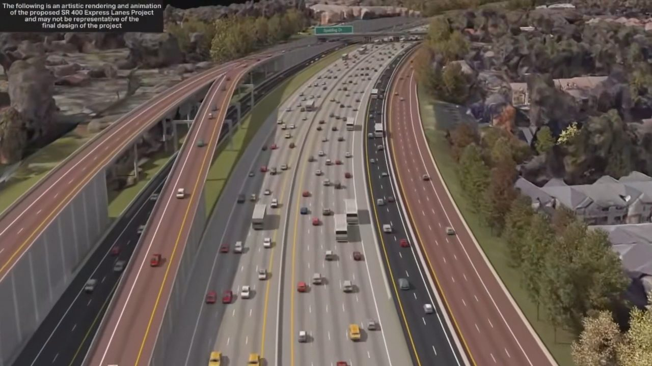 Ga. 400 could get a makeover to ease traffic congestion