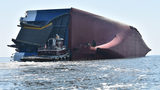 Georgia Ports Authority spokesman Robert Morris said an incident like this is the first of its kind for a vessel at either the Brunswick or Savannah ports.