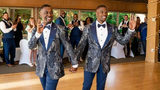 WATCH: Grooms stun wedding guests with epic flash mob at their reception
