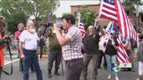 White supremacists outnumbered by counterprotesters, police at Dahlonega rally