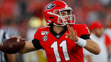 Georgia, Notre Dame tied 0 - 0 at end of 1st