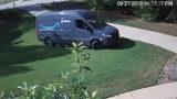 Video shows Amazon driver plowing through man's yard -- twice