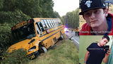 Two 'persons of interest' wanted in connection with school bus crash, police say