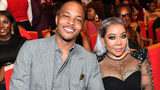 """ATLANTA, GEORGIA - SEPTEMBER 05: T.I. and Tameka """"Tiny"""" Harris attend 2019 Black Music Honors at Cobb Energy Performing Arts Centre on September 05, 2019 in Atlanta, Georgia. (Photo by Paras Griffin/Getty Images for Black Music Honors)"""