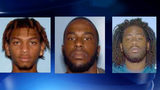Taron Williams, Jermel Campbell and Trayvon Williams are all wanted on Murder warrants.