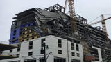 1 person killed, 2 trapped inside Hard Rock Hotel that partially collapsed