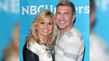 Actress Julie Chrisley and Todd Chrisley attend NBCUniversal's 2014 Summer TCA Tour day 2 at The Beverly Hilton Hotel on July 14, 2014 in Beverly Hills, California. (Photo by Mark Davis/Getty Images)