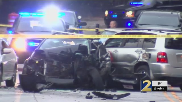 2 Police Officers Among Those Taken To Hospital After 5 Car