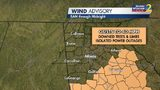 Nestor no longer tropical storm; heavy rain, wind advisory in effect