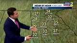 Mostly sunny, but very chilly afternoon ahead