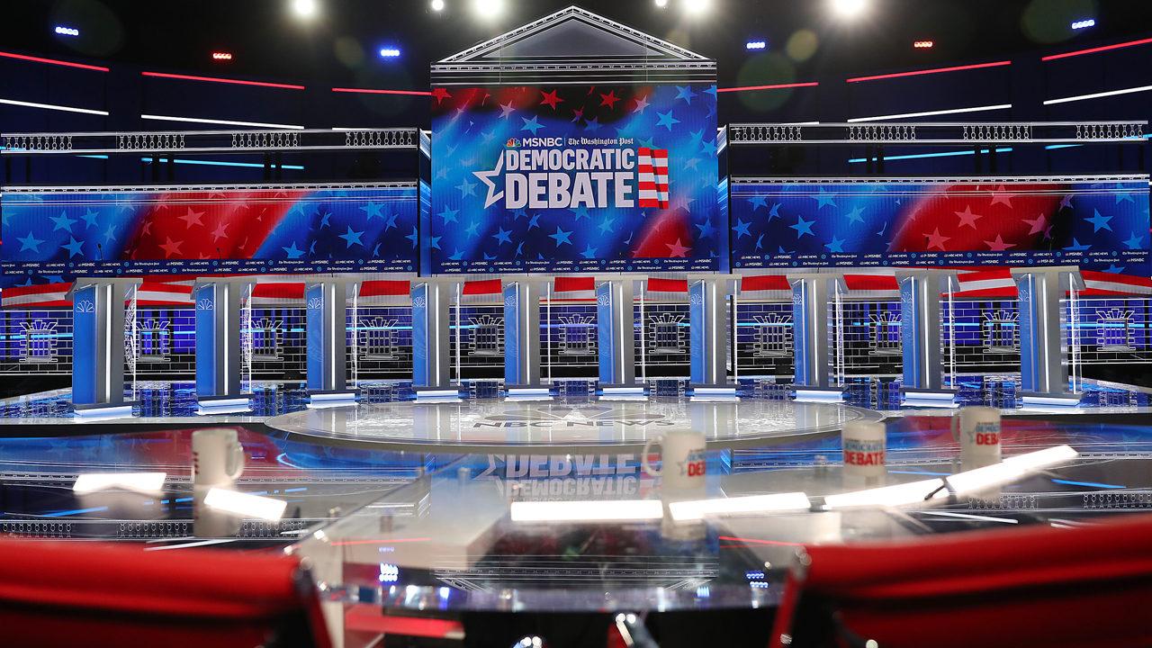 All eyes on Atlanta as Democratic presidential candidates get set to debate