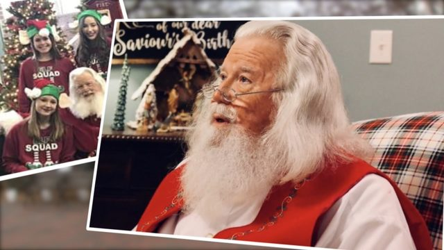 Marietta steps up to support popular Santa Claus whose son is battling cancer