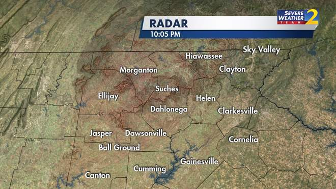 NE Georgia Weather Detail WSBTV - 5 day forecast atlanta georgia